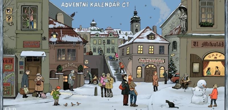 adventni kalendar online ČT spustila interaktivní adventní kalendář pro děti | Mediamania.cz adventni kalendar online