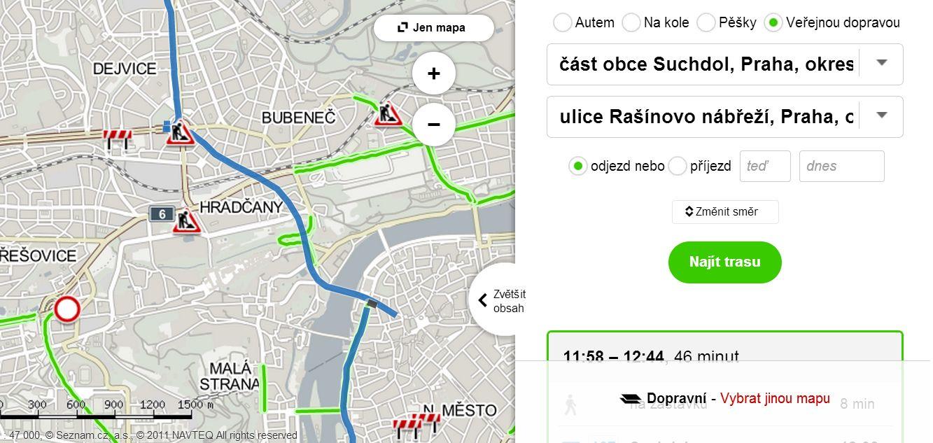 Mapa Mapa Brna S Vyhledavanim Ulic