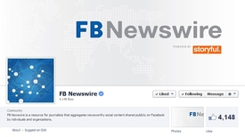 Nový projekt Facebooku -FB Newswire.