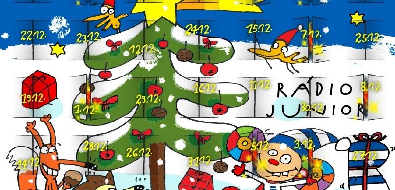 adventni kalendar online Vysílání Rádia Junior doplní on line adventní kalendář | Mediamania.cz adventni kalendar online