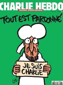 Charlie Hebdo opět vychází s karikaturou Mohameda.