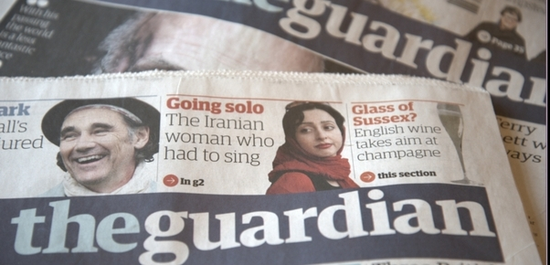 Britský list The Guardian.